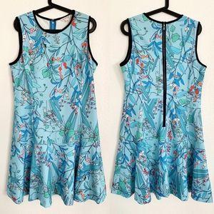 Nanette Lepore • Floral Print Sleeveless Dress 12